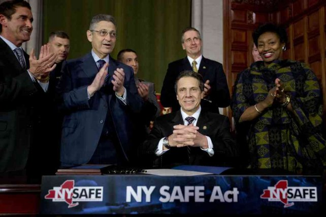 N.Y. Governor Flexes Political Muscle To Pass Tough Gun Law : NPR